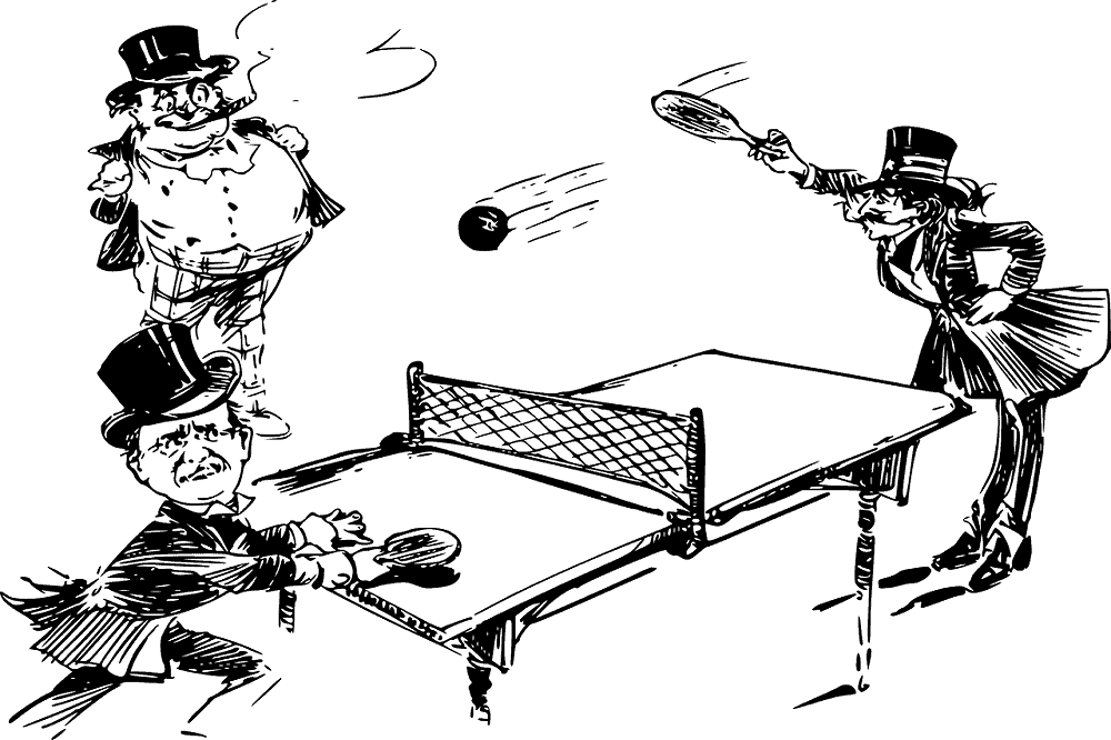 who invented table tennis